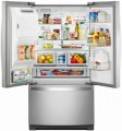 Whirlpool - 26.8 Cu. Ft. French Door Refrigerator - Stainless steel