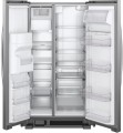 Whirlpool - 21.4 Cu. Ft. Side-by-Side Refrigerator - Monochromatic Stainless Steel-6076924