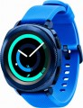 Samsung - Geek Squad Certified Refurbished Gear Sport Smartwatch 43mm - Blue
