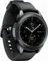 Samsung - Geek Squad Certified Refurbished Galaxy Watch Smartwatch 42mm Stainless Steel - Midnight Black