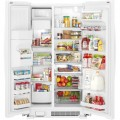 Whirlpool - 21.4 Cu. Ft. Side-by-Side Refrigerator - White