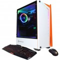 CyberPowerPC - Gaming Desktop - Intel Core i7 - 9700K - 16GB Memory - NVIDIA GeForce GTX 1660 SUPER - 2TB HDD + 500GB SSD - White-6401036